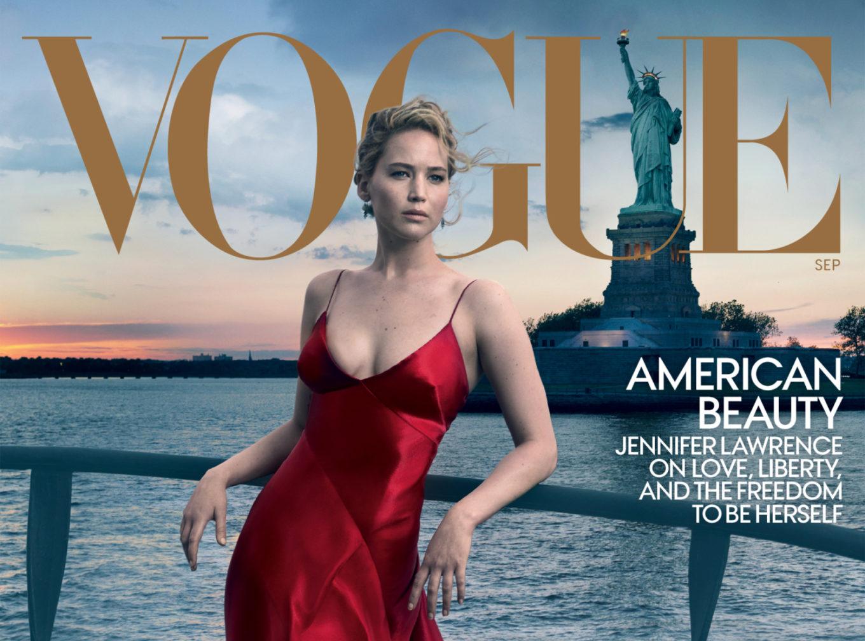 Jennifer Lawrence portada del September Issue de Vogue USA   EstiloMarqués