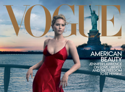 Jennifer Lawrence portada del September Issue de Vogue USA | EstiloMarqués