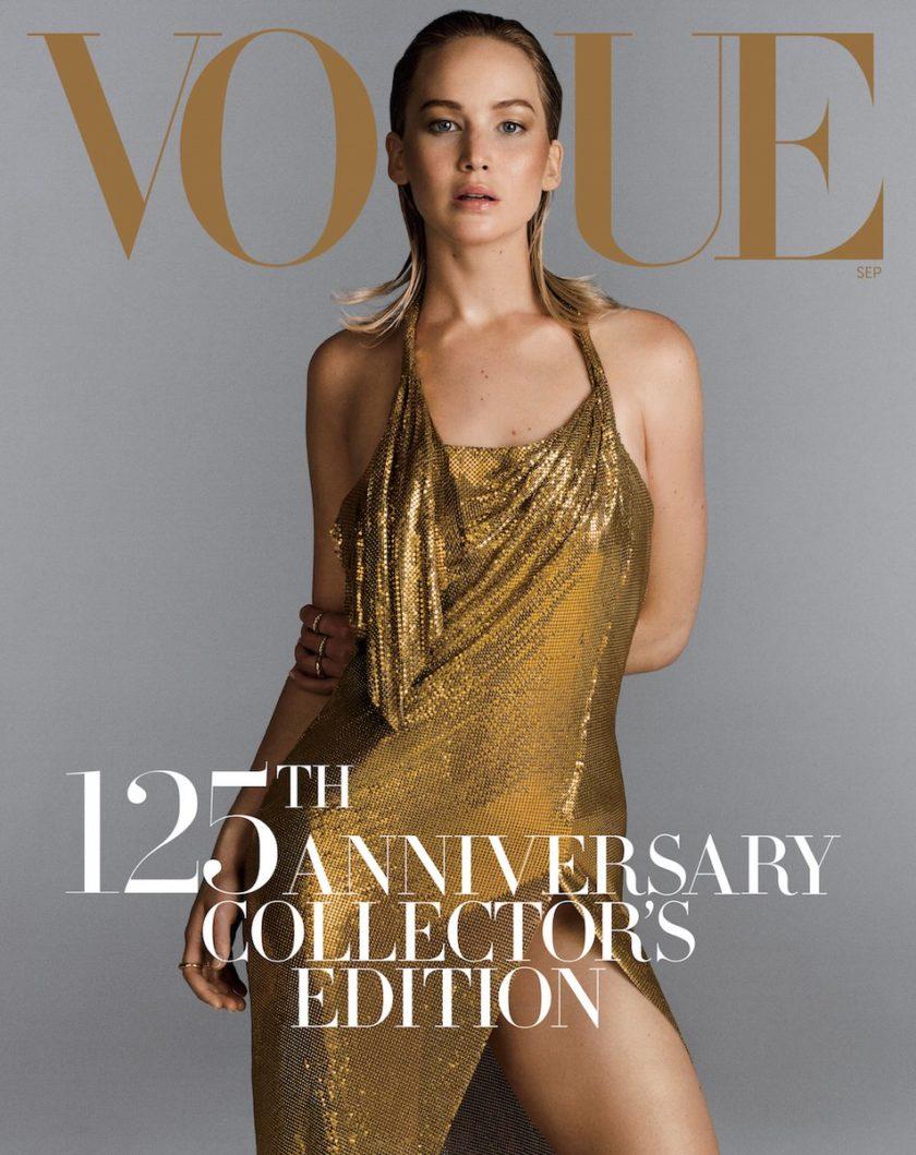 Portada revista Vogue September Issue Jennifer Lawrence fotografiada por Inez&Vinoodh   EstiloMarqués